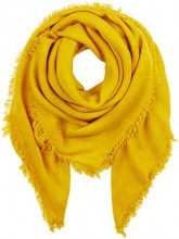 PIECES Pcfaline Square Scarf, Cappello in felto Donna, Giallo Nugget Gold, Taglia Unica