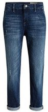 ESPRIT 046EE1B019 - lockerem cut, Jeans da Donna, Blu (Blue Medium Wash 902), W28/L28 (Taglia Produttore: 28)