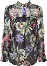 Camicia con fantasia floreale e dettagli in pizzo FLOWERCHARME