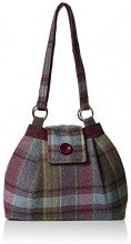 Joe Browns Tweedy Vintage Bag - Borse a mano Donna, Viola (Heather Multi), 8x24x30 cm (W x H L)